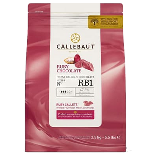 Callebaut - Ruby - Pastille Ruby 47%
