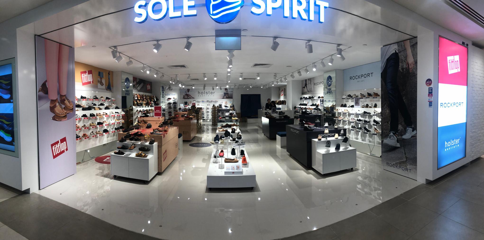 Sole Spirit Plaza Singapura