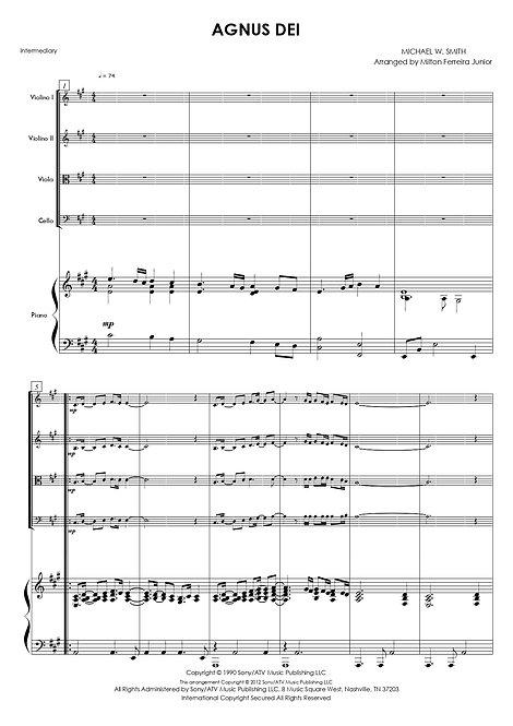 Agnus Dei - Piano & Quarteto de Cordas