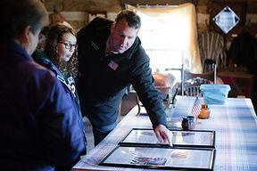 Congressman Alex Mooney visits Fort Ashby.