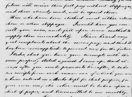 Washington's Rebuke of Captain Ashby's Wife, Jane