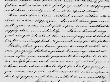 Washington's Rebuke of Captain Ashby's Wife, Jane