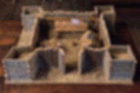 Mock-up of Ashby's Fort