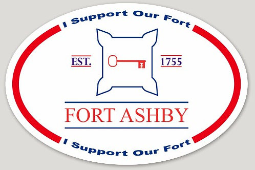 Fort Ashby Sticker