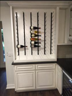 KB Solutions Kitchen Wine Rack
