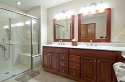 Bath Solutions Shower door bench-shower-