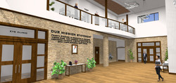 Rendered View From Two Story Entry_Frant