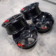 Customer 2 toned TBSS wheels.