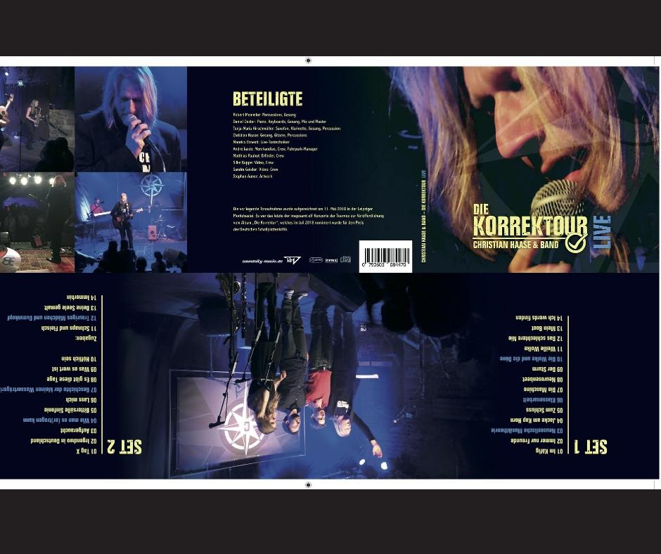 Christian Haase & Band Korrektour Live