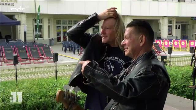 Christian Haase und Micha Nass bei MDR um 11