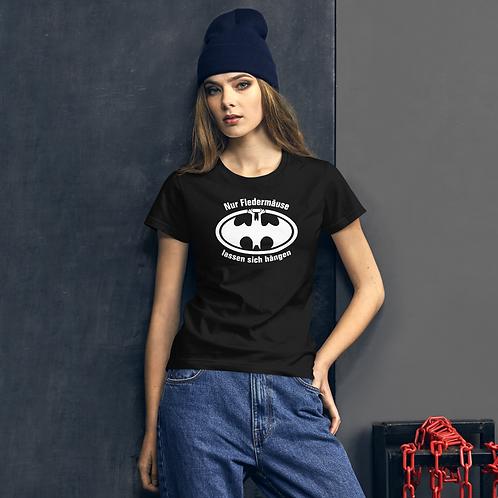 """Shirt Damen """"Fledermäuse"""" Druck: weiß"""