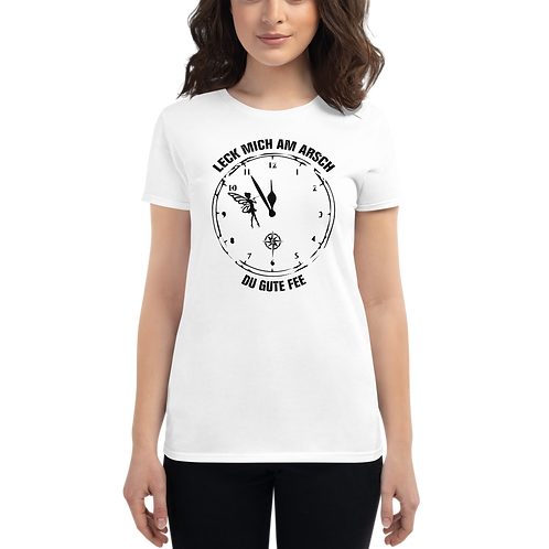 "Shirt Damen ""Fee"" Druck: schwarz"