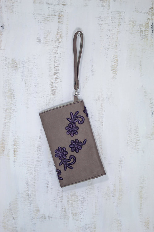 Royal Florals Clutch
