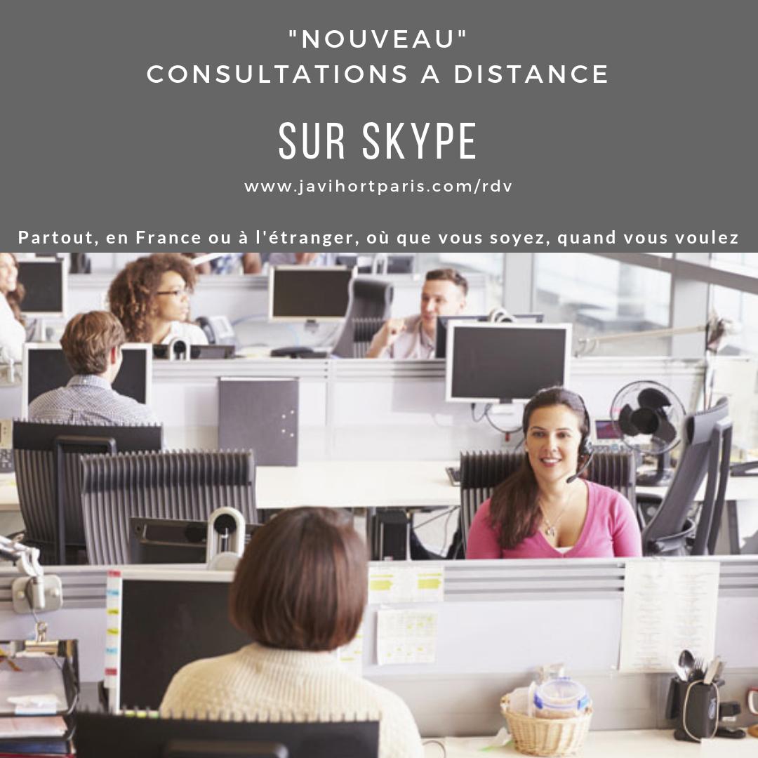 consulter hypnose à distance bureau