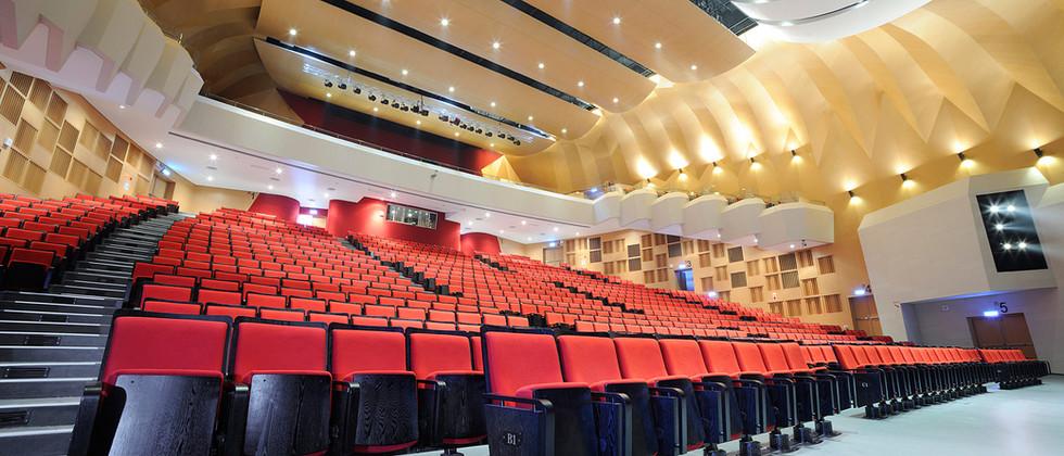 PUTAI HIGH SCHOOL MUSIC HALL, TAIWAN