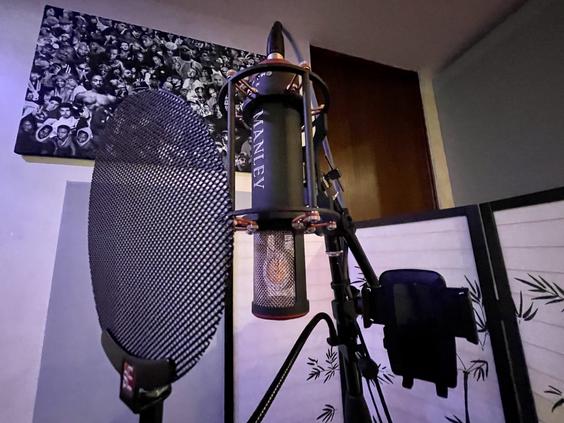 Summit Studios - manley microphone