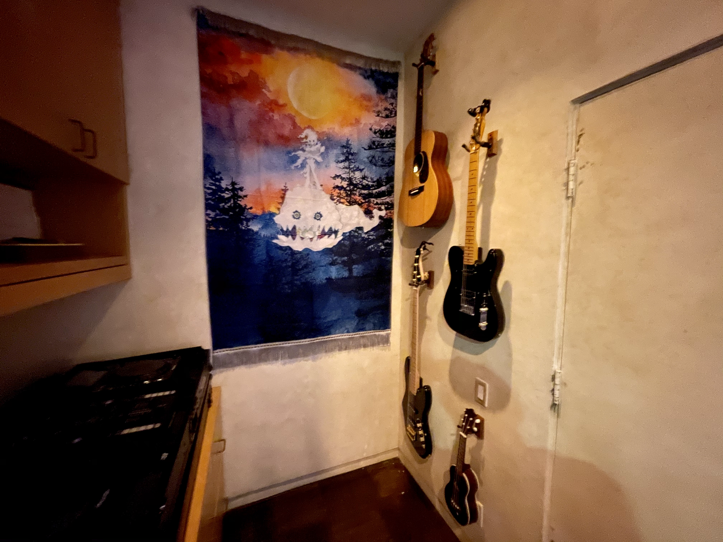 Summit Studios - guitar wall