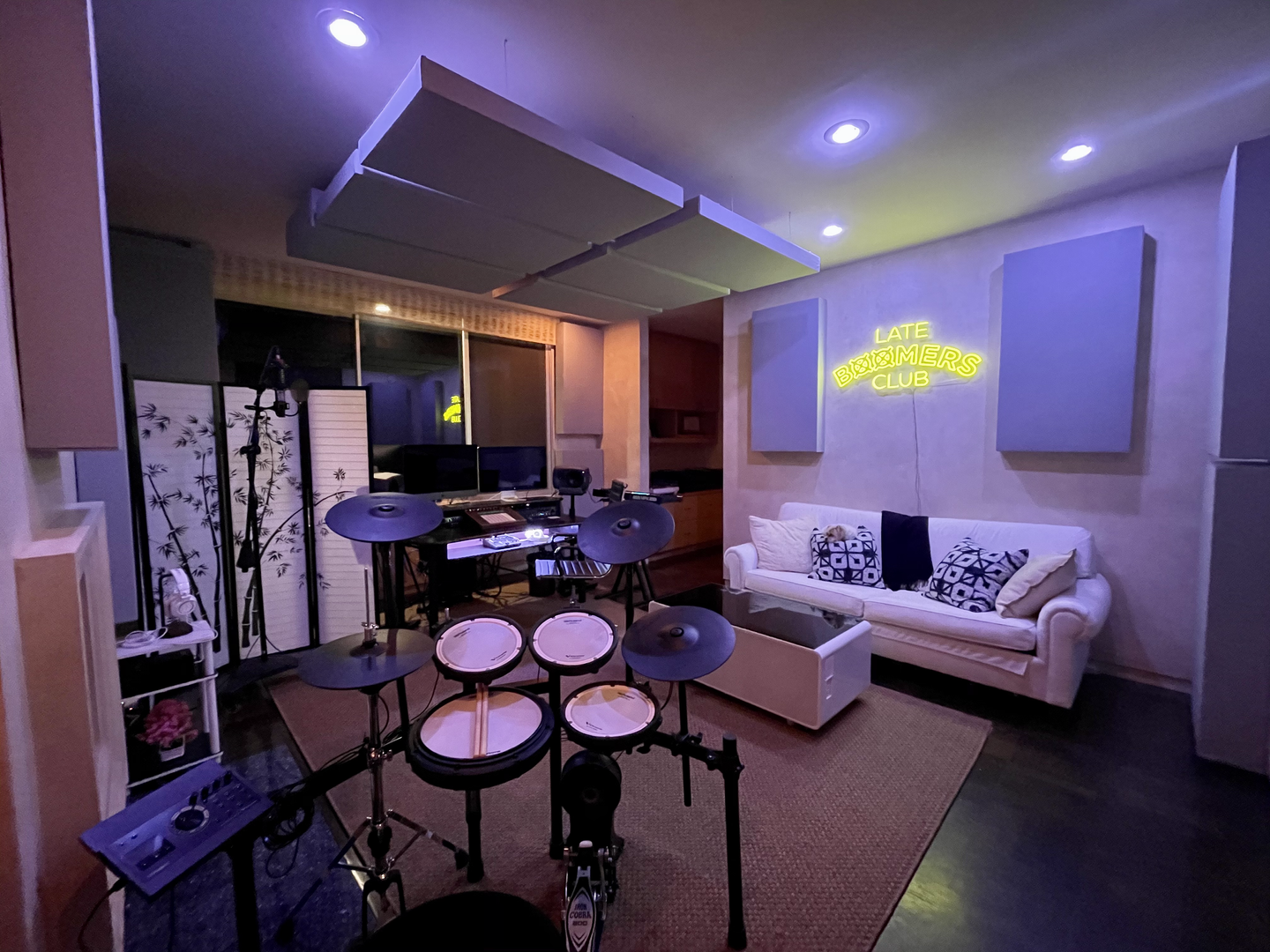 Summit Studios - drumset view
