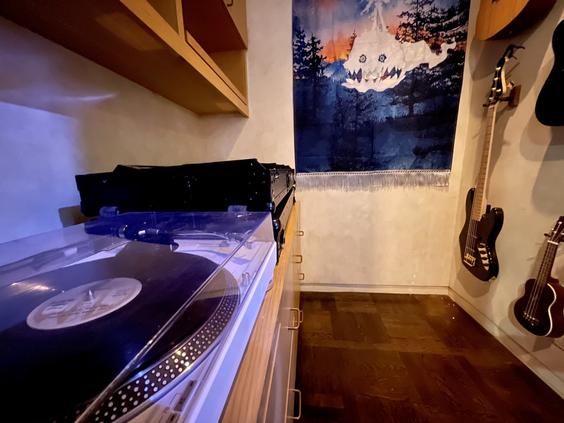 Summit Studios - vinyl setup