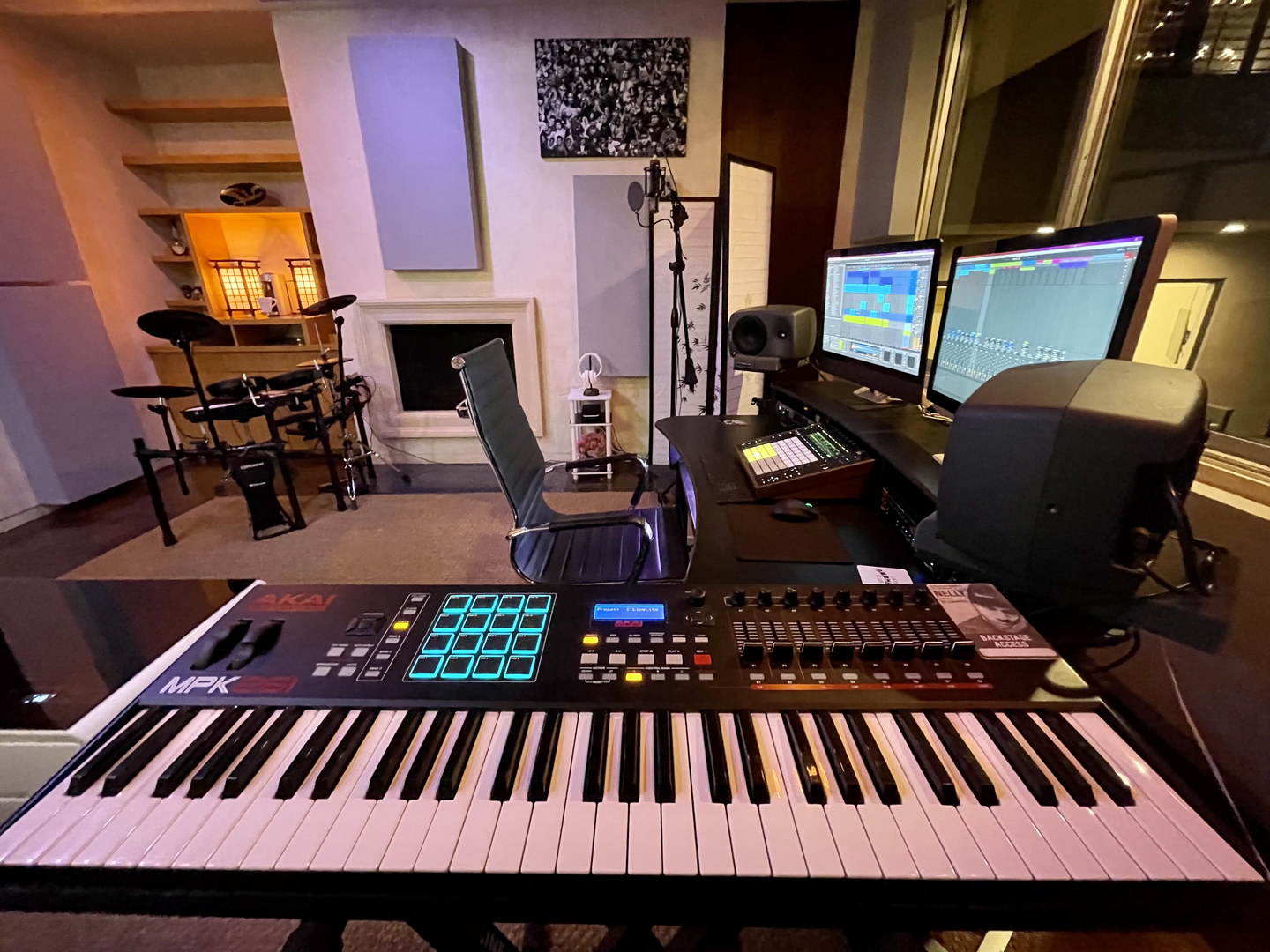 Summit Studios - keyboard setup