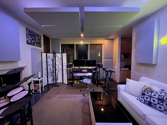 Summit Studios - desk view