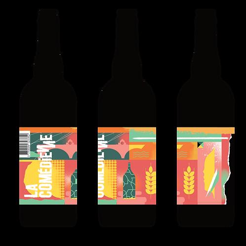 """Carton Bière Triple """"5ème mur"""" 6 x 75 cL"""