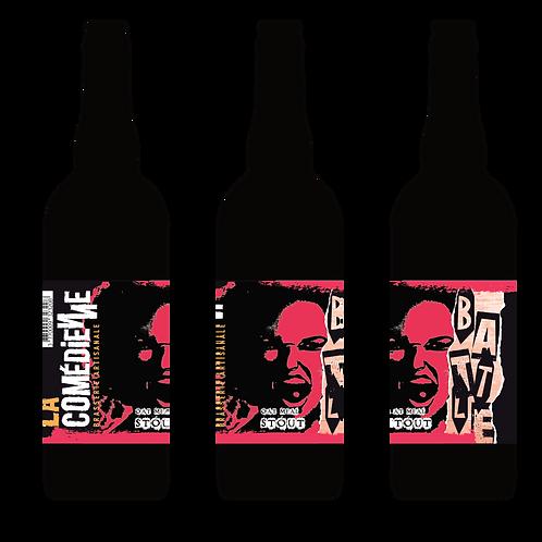 """Carton Bière brune """"Battle"""" 6 x 75 cL"""