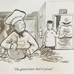The Gluten's Back...