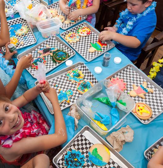 Kids Cookie Decorating