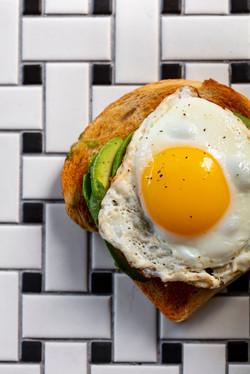 Avo Toast & Eggs