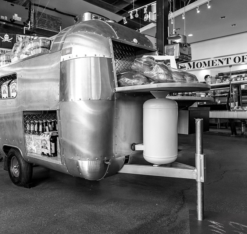 Mini Airstream Display