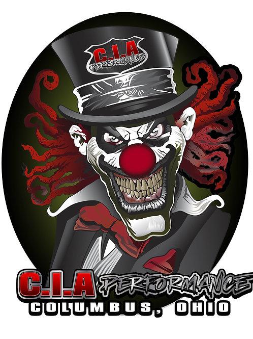 """CIA """"CLOWN"""" Decal"""