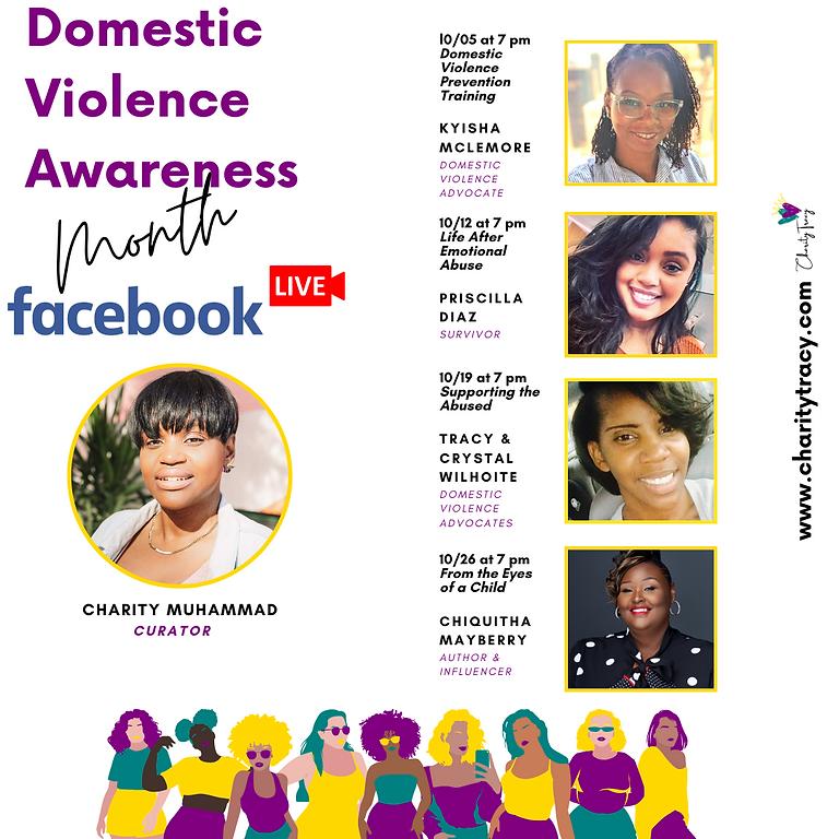Domestic Violence Awareness Facebook Live Series