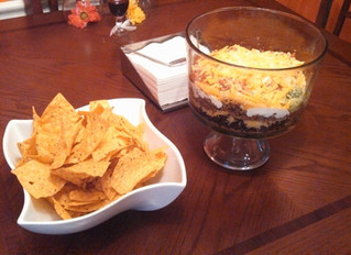 Vegan Sunday-7 layer Dip