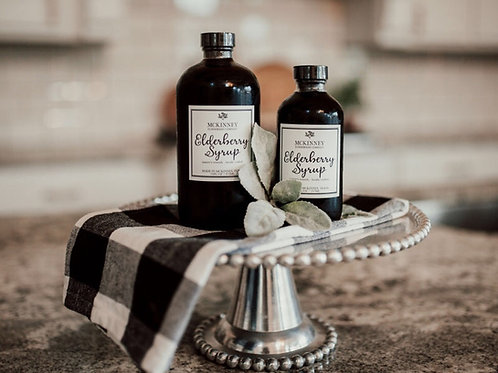 Traditional Elderberry Syrup 16 & 32oz