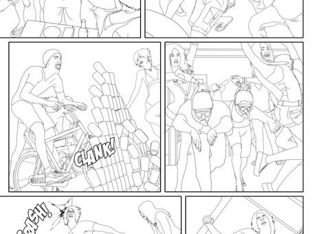 Revising Artwork For Comic Books