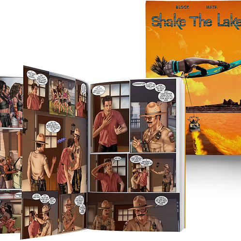 Shake The Lake Graphic Novel - Hardcopy