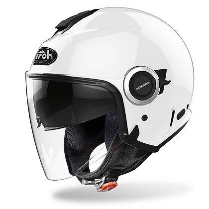 Airoh Helios Helmet White Gloss