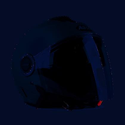 Airoh Helios Helmet Grey Gloss