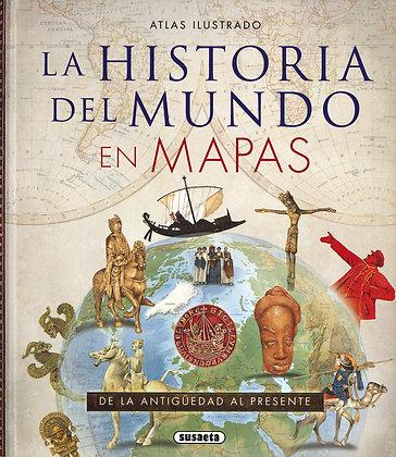 ATLAS ILUSTRADO LA HISTORIA DEL MUNDO EN MAPAS