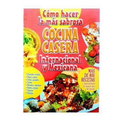 COCINA CASERA INTERNACIONAL Y MEXICANA