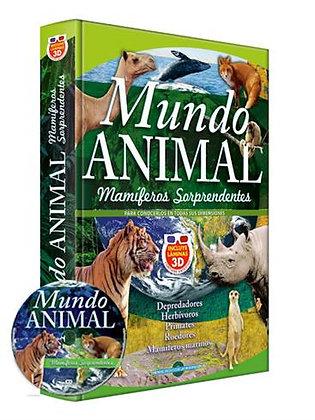 Mundo Animal Mamíferos Sorprendentes 3D/CD