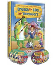 English for Kids and Teenagers + 3 DVDs+ 3 CDs