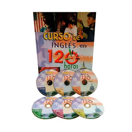 Curso de Inglés 120 Horas +  3 DD-ROM + 3 DVD