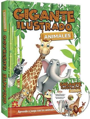 GIGANTE ILUSTRADO DE ANIMALES