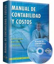 Manual de contabilidad y costos + CD-ROM