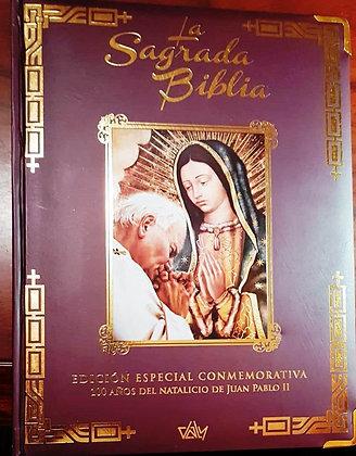 SAGRADA BIBLIA EDICION CONMEMORATIVA JUAN PABLO II