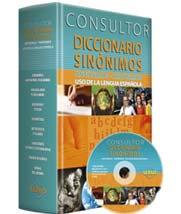 Consultor Diccionario Sinónimos + CD-ROM