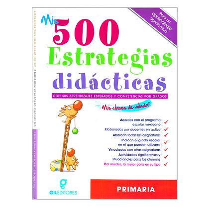 MIS 500 ESTRATEGIAS DIDÁCTICAS: PRIMARIA