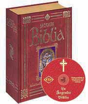La Sagrada Biblia a Color (filo dorado) + CD-ROM